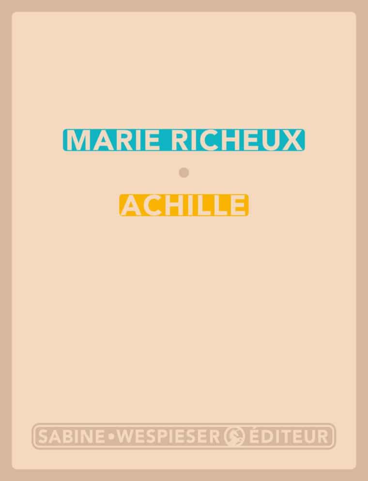 Achille - Marie Richeux - 2015