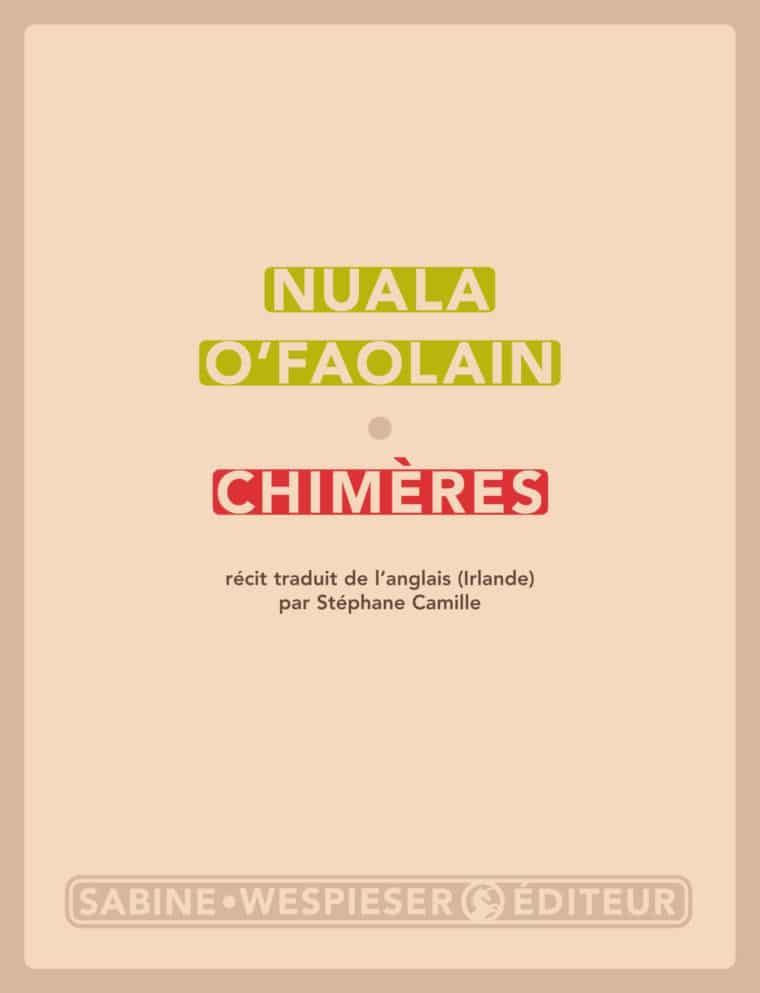 Chimères - Nuala O'Faolain - 2003