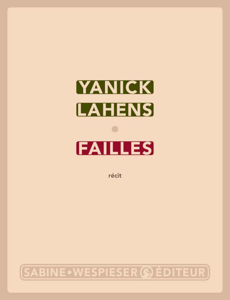 Failles - Yanick Lahens - 2010