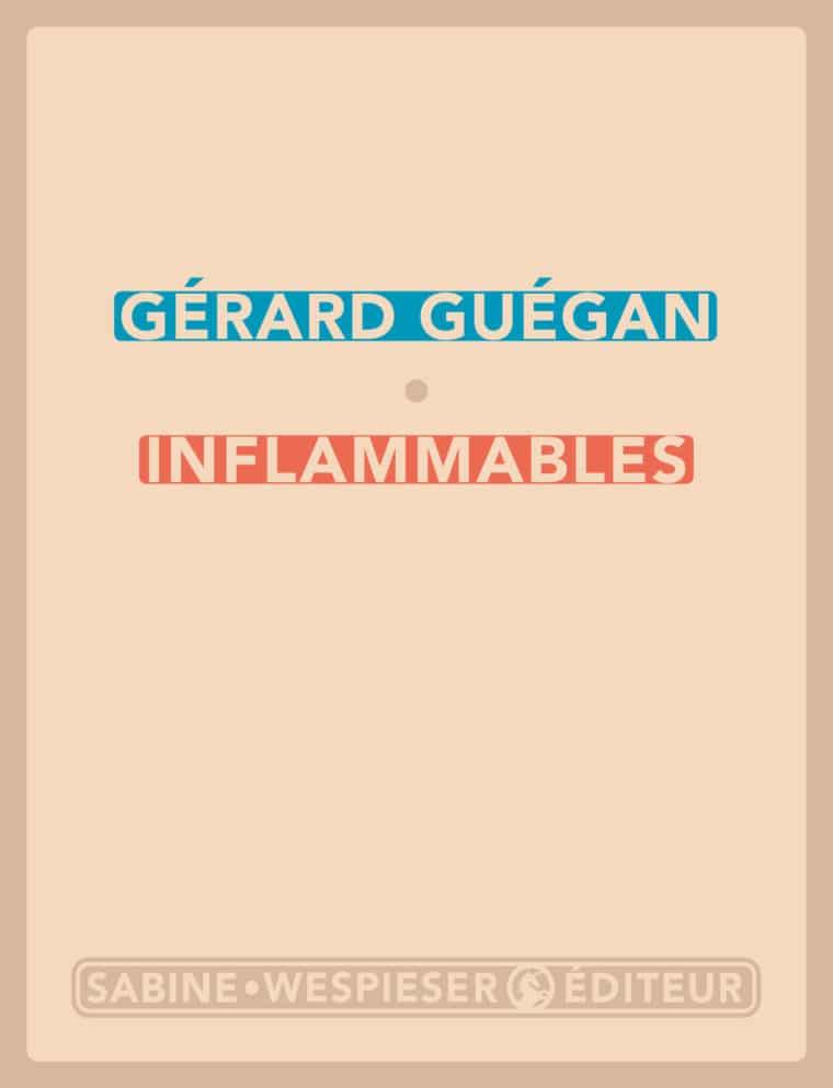 Inflammables - Gérard Guégan - 2004