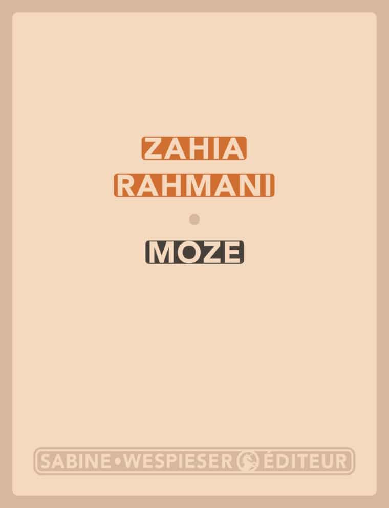 Moze - Zahia Rahmani - 2003