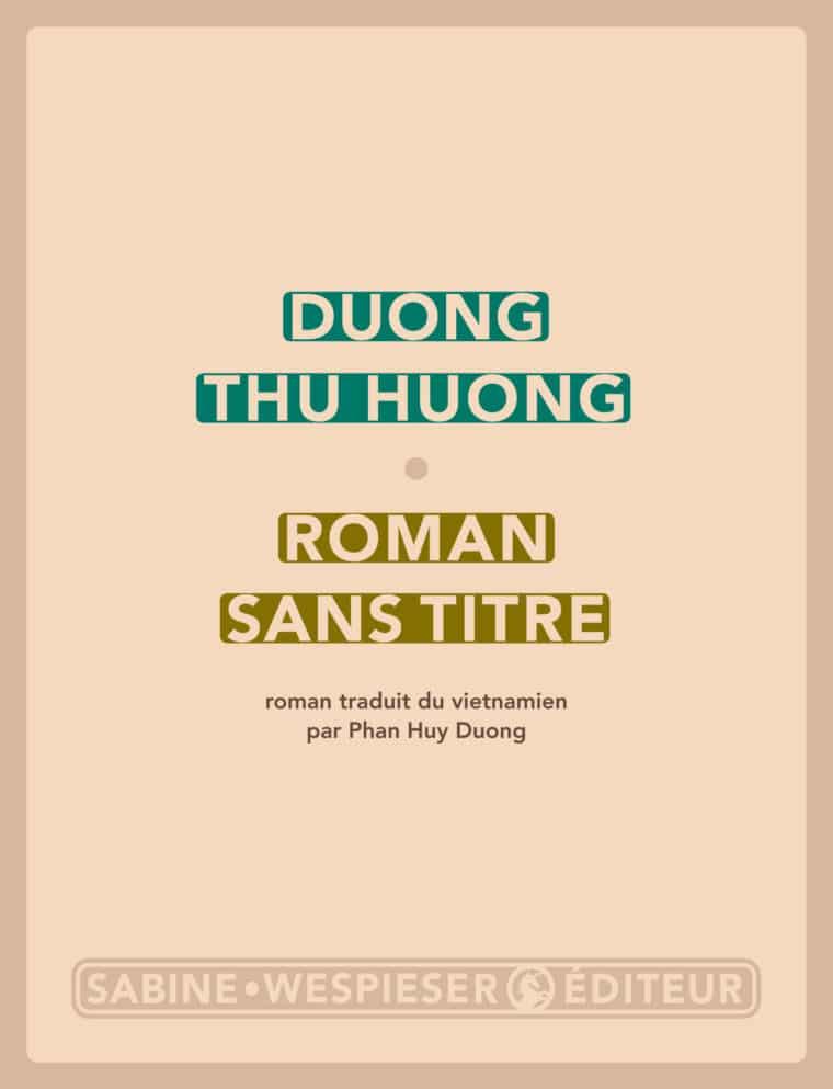 Roman sans titre - Duong Thu Huong - 2010