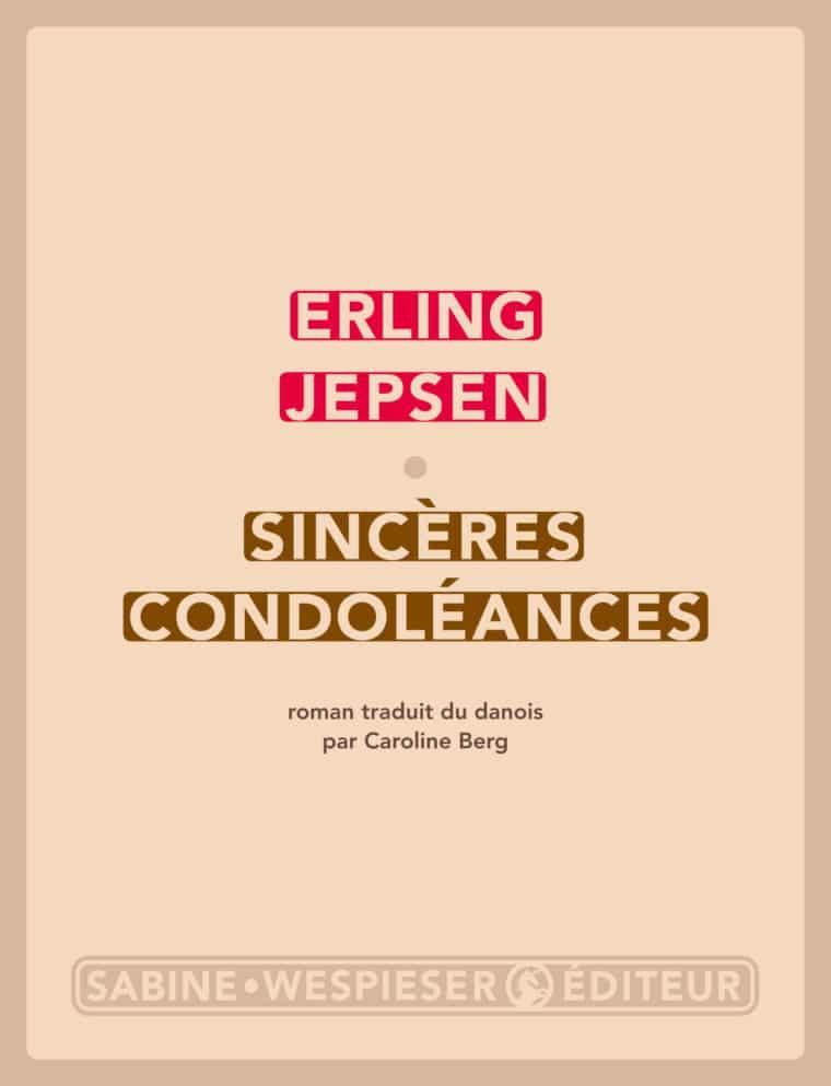 Sincères condoléances - Erling Jepsen - 2011